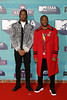 Rap Duo Krept and Konan attend the MTV EMAs 2017 held at The SSE Arena, Wembley on November 12, 2017 in London, England. (Photo by Andreas Rentz/Getty Images for MTV)