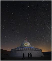 Leh Shanti Stupa  0011 (Fermin Ezcurdia) Tags: chemreymonastery hemismonastery lehpalace somagompa namgyaltsemogompa shantistupa sheymonastery staknagompa thiksemonasterymonastery thikse stakna gompa shey stupa shanti soma namgyal leh hemis chemrey ladakh receptionlama lama