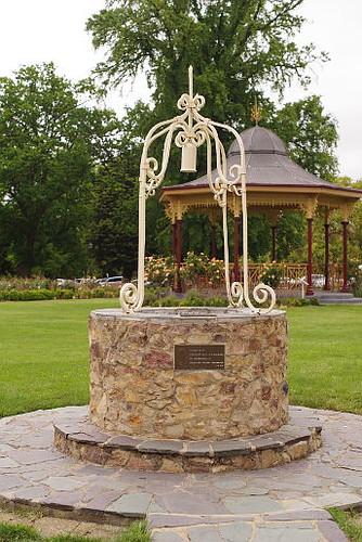 wishing well in Belmore Park, Goulburn, NSW, Australia