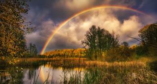 Am Anfang des Regenbogens