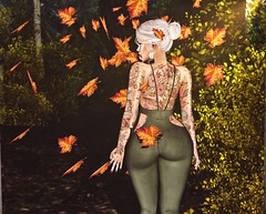 Falling Behind (~GraceSixpence~) Tags: phoenix catwa ysys maitreya scandalize yummy cheekyink hairology c88 sadnovember xxxevent imitation