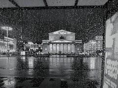 Ноябрьский дождь. Москва, Россия (varfolomeev) Tags: 2017 russia city street nikonp340 россия город улица чб bw дождь rain