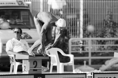 127 Swimming EM 1991 Athens