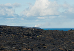 K3_P2794-sRGB (mountain_akita) Tags: hawaii holeicoast lava ocean smoke steam water pāhoa unitedstates us