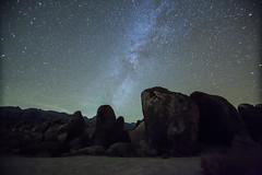 Milky Way lone pine (AlexMangold) Tags: camping desert stars night sky lonepine milkyway