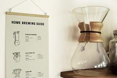 Coffee Home Brewing Guide (David.Sankey) Tags: coffee brewing pourover chemex kalita hario coldbrew recipe guide chart wallchart art illustration drawing