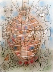 XlV. JÉSUS MIS AU TOMBEAU (Claude Bolduc) Tags: artsingulier outsiderart artbrut visionaryart intuitiveart lowbrow surrealism autodidacte selftaugh