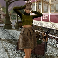 Embroidered (Algezares (III)) Tags: ghee 68main sweater embroidered train station lugage makeup tuty secondlife ebento