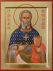 Св. праведный Иоанн Кронштадтский (30х40)