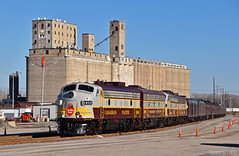 """CP Business Train in Kansas City, MO (""""Righteous"""" Grant G.) Tags: cp canadian pacific railroad railway train trains f unit emd gm power business officer car special kansas city missouri"""