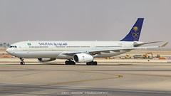 Saudi Arabian Airlines Airbus A330-343 (yousaf10c) Tags: aircraft hzaq19 saudiarabia riyadh
