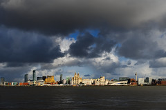 47/52: Liverpool from Birkenhead (nickcoates74) Tags: a6300 birkenhead ilce6300 mersey river rivermersey sel1650 sony waterfront wirral uk landscape 52weeks 52