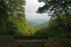 "The Benchmark of Beauty - Overlooking the Wye Valley (antonychammond) Tags: wyevalley riverwye bench gloucestershireherefordshireandmonmouthshire forestofdean forest england wales uk saariysqualitypictures thegalaxy contactgroups scenicsnotjustlandscapes ""magicmomentsinyourlifelevel3"""
