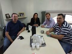 Com Janaína e Paulo Administradora Regional Boa Vista