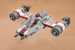 Onith-Wing Starfighter (ted @ndes) Tags: fbtb aurebesh starfighter contest star wars onith cockpit lego space