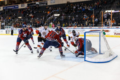 "Kansas City Mavericks vs. Kalamazoo Wings, November 29, 2017, Silverstein Eye Centers Arena, Independence, Missouri.  Photo: © John Howe / Howe Creative Photography, all rights reserved 2017 • <a style=""font-size:0.8em;"" href=""http://www.flickr.com/photos/134016632@N02/38713480232/"" target=""_blank"">View on Flickr</a>"