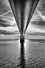 skybridge (chipsewi) Tags: storebælt groserbelt fähre ferry brücke bridge wolken clouds himmel sky dänemark denmark kiel oslo weitwinkel wideangle nikond810