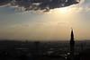 Ankara'dan (syhnbykync) Tags: ankara türkiye turkey başkent minare akşam şehir güneş sun cami bulut