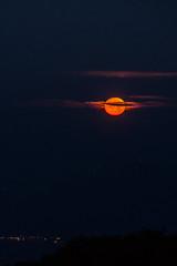 Magic Moonset (ArneKaiser) Tags: hawaii landscape maalaeabay maui mcgregorpoint clouds moon moonset nightandlowlightphotography panorama sky view weather
