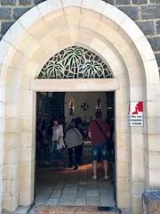 18 - Szent Péter elsőségének temploma - bejárat / Kostol Primátu sv. Petra - vchod