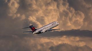 Delta 717 Sunset