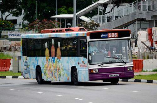SBS Transit Volvo B10M Mark 4 Walter Alexander Strider