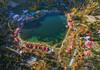 Lower Kachura (SMBukhari) Tags: skardu shangrila lowerkachura gilgitbaltistan smbukhari syedmehdibukhari aerial landscape autumn resorts