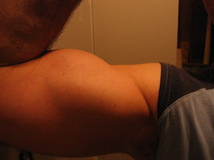 BICEPS (flexrogers963) Tags: biceps bicep pecs vein lats muscle muscular flex flexing huge big massive ripped workout fit exercise jacked musclemodel chest abs traps bodybuilder bodybuilding bizeps muscles mondo veins bodybuild bodyboulder fitness gym hugebiceps gross