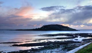 Dusk at Looe Island, Cornwall (Explored)