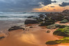 Dawn Seascape (Merrillie) Tags: daybreak shoreline sand landscape nature australia surf rocks killcarebeach newsouthwales waves centralcoast nsw clouds beach ocean water coastal dawn photography sea sky seascape waterscape coast killcare outdoors