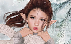 LAQ Scarlet (Gabriella Marshdevil ~ Trying to catch up!) Tags: sl secondlife bento meshhead laq sintiklia elf cute doll kawaii mesh applier