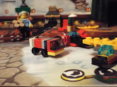 Fire Truck (Paranoid from suffolk) Tags: 2017 lego city advent calendar day15 firetruck toy