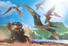 PTERANODON LEGO DINO (Shobrick) Tags: lego dino shobrick dinosaurs pteranodon figurines toys photography canon 5d markiii motorbike minifig paleontologist action scene macro flying cliff art book glénat editions mountain landscape lake motion paleontology tiny jurassic world