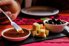 Taberna da Queimada (Terceira Island, Azores) (Gail at Large | Image Legacy) Tags: 2017 azores açores ilhaterceira portugal tabernadaqeimada terceira gailatlargecom cheese queijo olives azeitonas