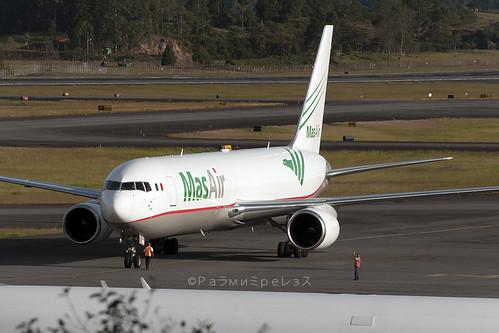 MAS Air Boeing 767-300F MDE