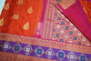 GDL006006A (Anivartee.) Tags: handwoven silk saree
