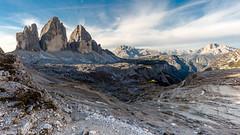 Drei Zinnen (Tre Cime di Lavaredo), Südtirol, Italien (Bernd Edelmann) Tags: tre cime di lavaredo trecimedilavaredo dreizinnen südtirol italien alpen berge landschaft landschaftsfotografie landschaftsaufnahmen landscape natur nature moutains