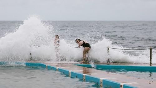 Getting splashed #5