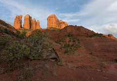 Sedona ... Morning Sunshine (Ken Krach Photography) Tags: sedonaarizona cathedralrock