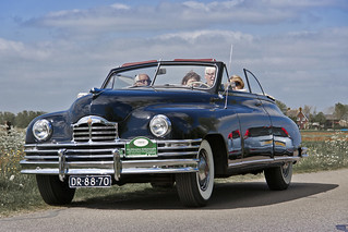 Packard Super Eight Convertible Victoria Coupé 1949 (2939)