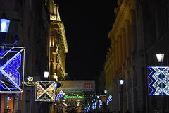 Christmas in Bucharest (WT_fan06) Tags: christmas bucharest craciun bucuresti night light lumina decorations decoratiuni city centre centru old town vechi tradition noapte iarna winter artsy aesthetic 2017 vibes