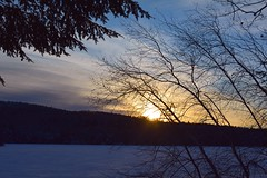 2017_1231Last-Sunset0001 (maineman152 (Lou)) Tags: decembersunset lastdecembersunset westpond coldsunset coldweather winterweather nature naturephoto naturephotography landscape landscapephoto landscapephotography december maine