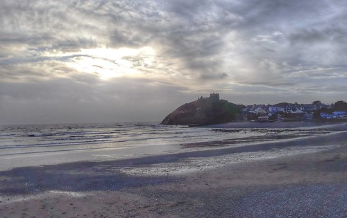 Criccieth  & it castle this afternoon.