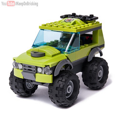 City 60121 alternate MOC (KEEP_ON_BRICKING) Tags: lego city moc 60121 video 4x4 suv car vechile vulcano explorer afol keeponbricking youtube