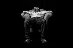 Sleeping Deep (alexhesse.de) Tags: weart portrait bnw bw blackwhite monochrome sleeping olympus