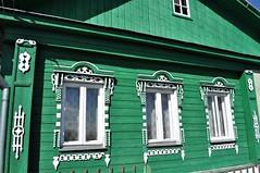 casa de madera con la arquitectura típica de la zona-kostroma-rusia (jordi doria 140) Tags: rusia1 kostroma rusia russia