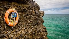 Lifeline (Kathrin & Stefan) Tags: tasmansea thegap cloud gap nature ocean outdoor rock sky aucklandwaitakere northisland newzealand