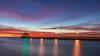 Traffic Light Sunrise! (karindebruin) Tags: america air clouds canon canalpark duluth filters nd6hardgrad zonsopkomst pier reflectie reflection usa vuurturen water wolken longexposure sunrise lighthouse leefilters minnesota langesluitertijden