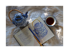 (giovdim) Tags: tea teapot teacup sketch sketchbook drawing light pagesfrommynotebook pages moment teaism théisme τεϊσμόσ okakura thebookoftea creative aworshipoftheimperfect moralgeometry pencil draw pen stilllife