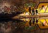 Lyon - Sous le pont. (Gilles Daligand) Tags: lyon rhone souslepont underthebridge personnages graffiti fujifilm s5pro 200mm